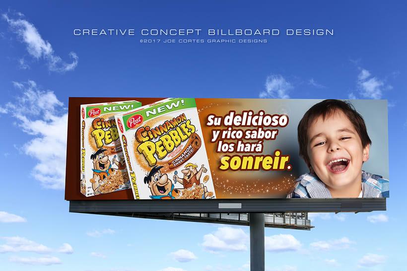 Billboard Concept Designs for Plaza Provision 0