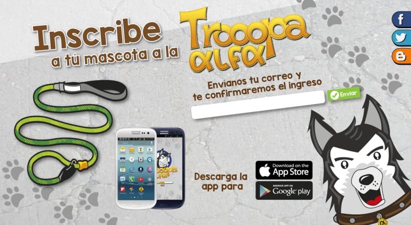 Diseño de App / Trooopa Alfa 5