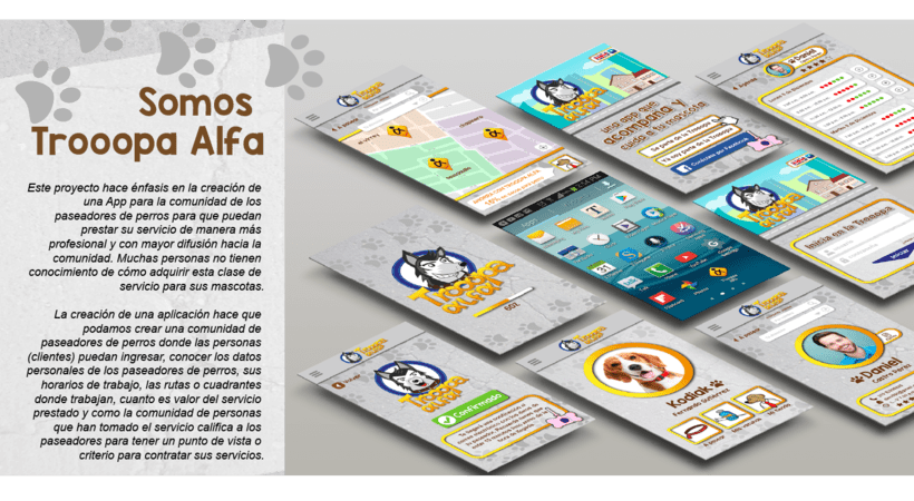 Diseño de App / Trooopa Alfa 1
