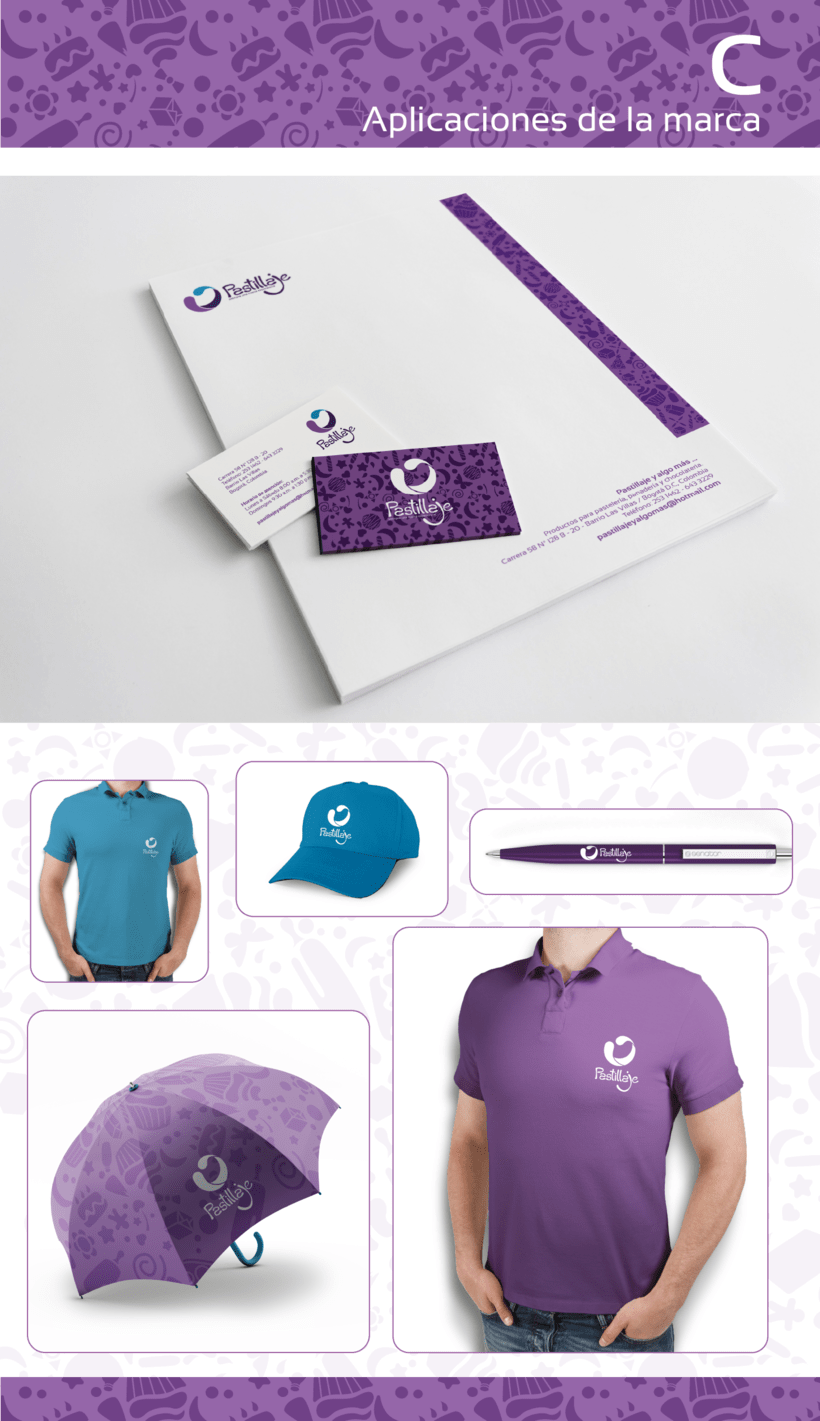 Diseño de marca / Pastillaje 5
