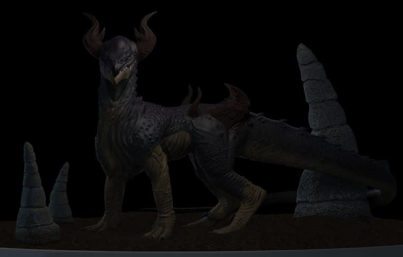 Criatura 3D 2