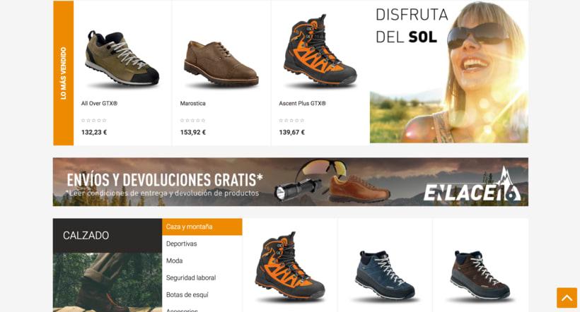 Diseño imágen corporativa y web comercial 1