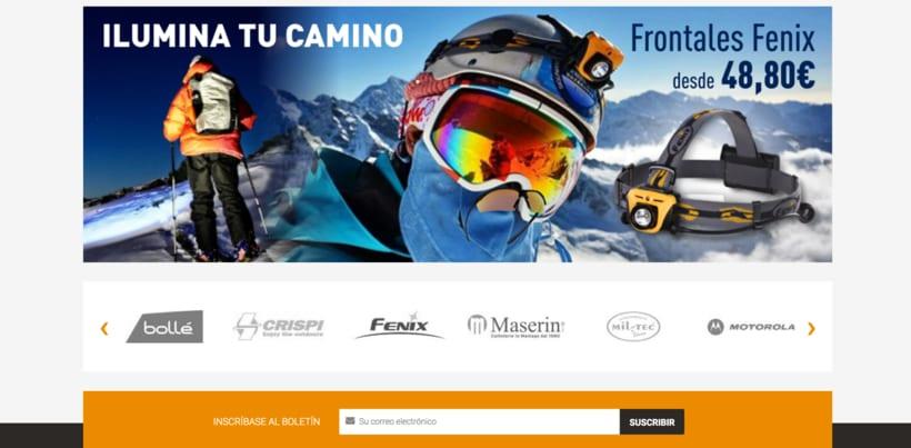 Diseño imágen corporativa y web comercial 2