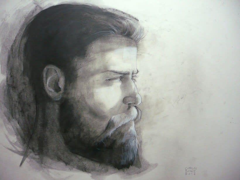 Fading portraits 1 0