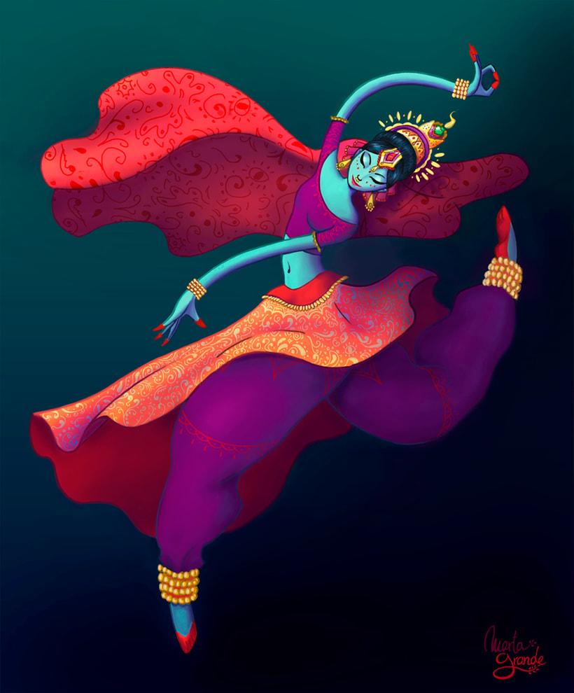 Indian Dancer 0