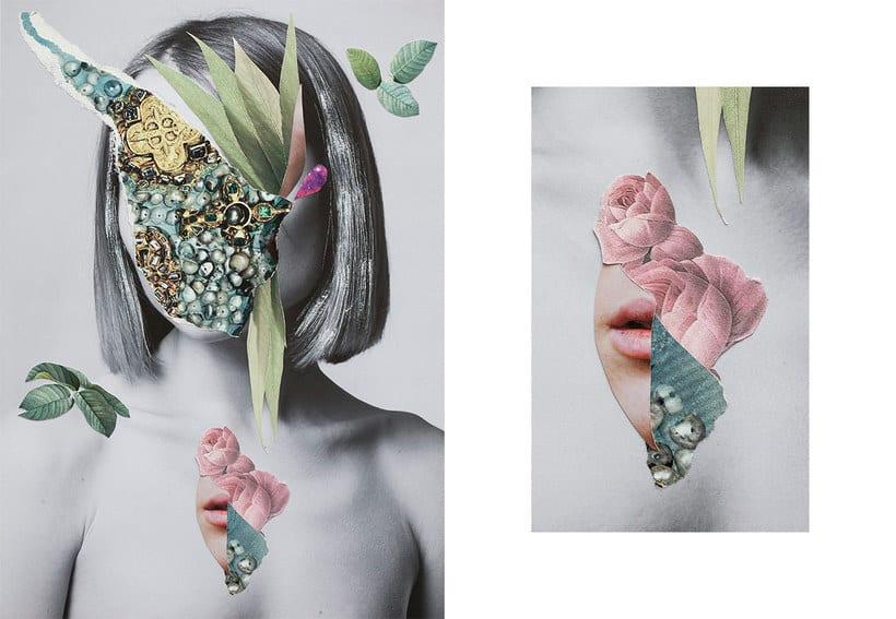 El delicioso collage analógico y surrealista de Rocío Montoya 3