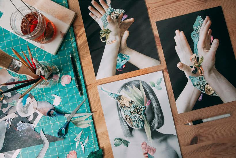 El delicioso collage analógico y surrealista de Rocío Montoya 5
