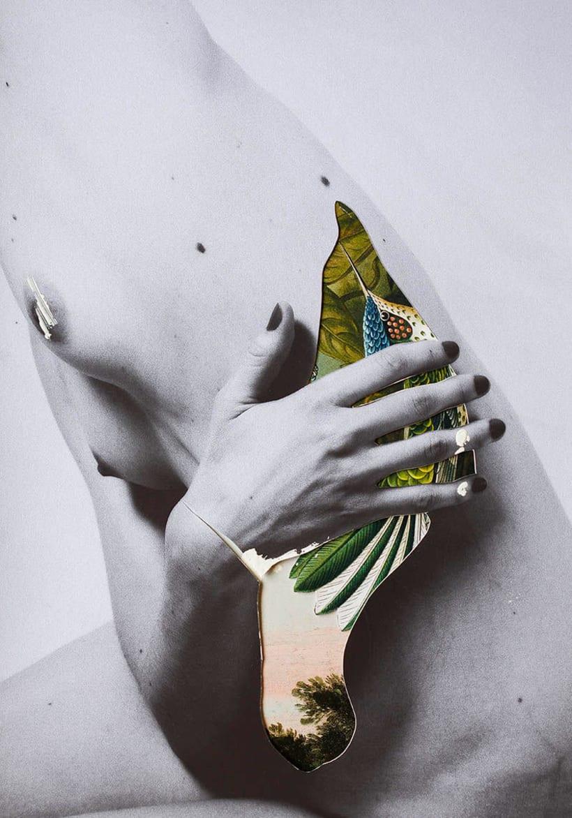 El delicioso collage analógico y surrealista de Rocío Montoya 6