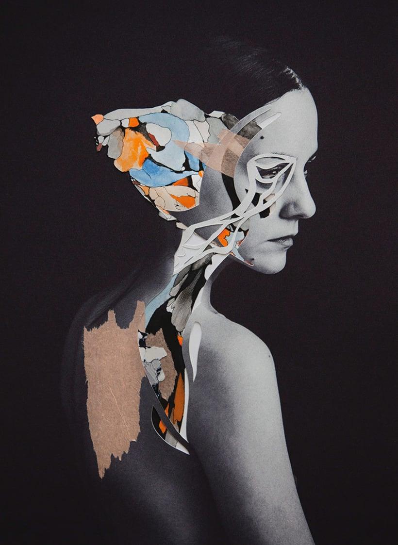 El delicioso collage analógico y surrealista de Rocío Montoya 7