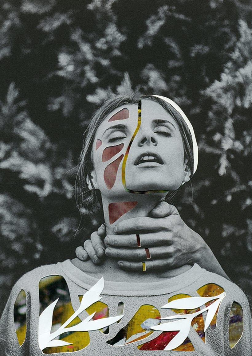 El delicioso collage analógico y surrealista de Rocío Montoya 9