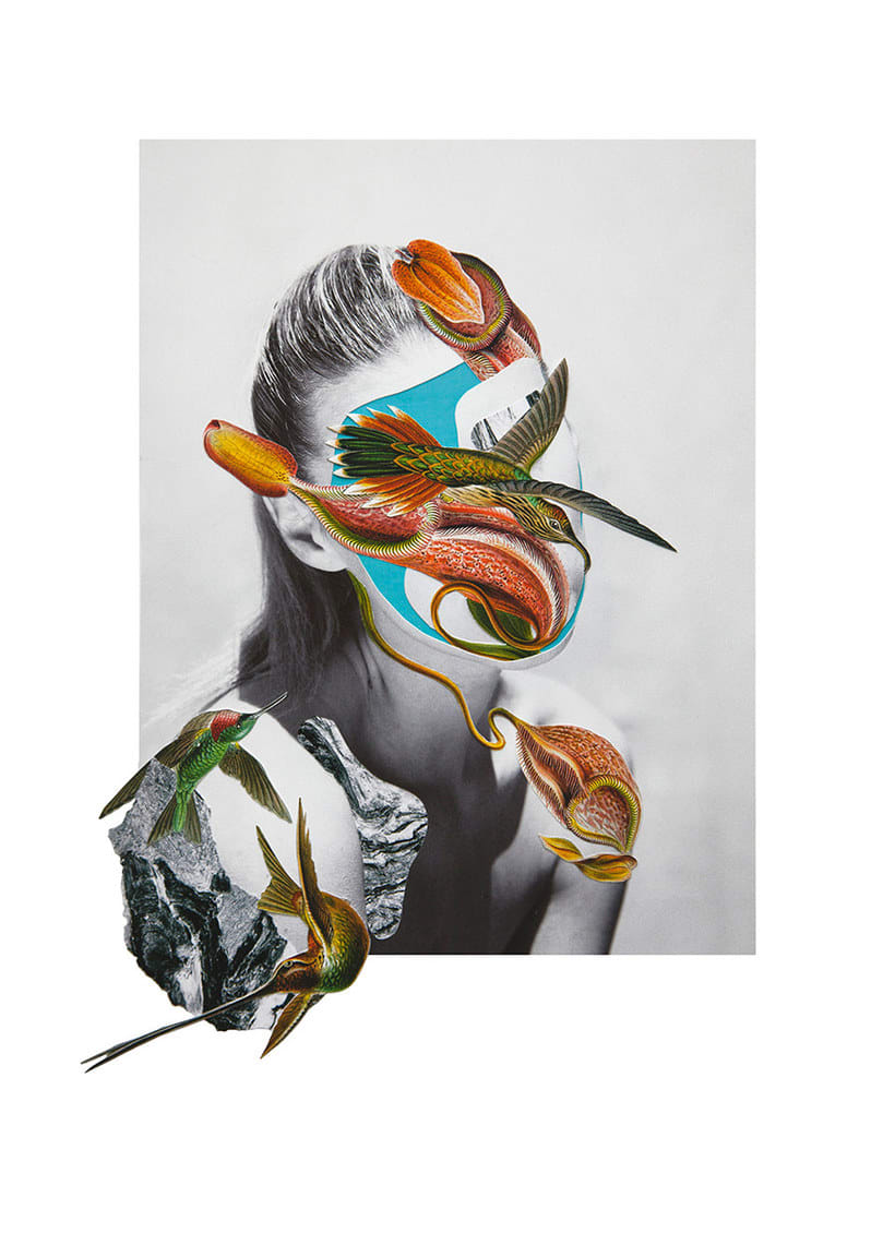 El delicioso collage analógico y surrealista de Rocío Montoya 13