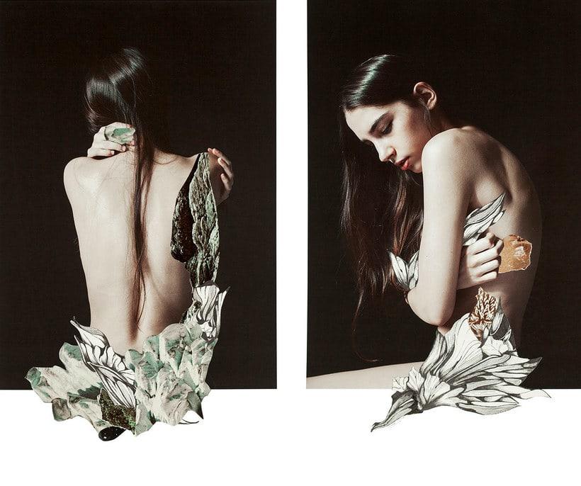 El delicioso collage analógico y surrealista de Rocío Montoya 14