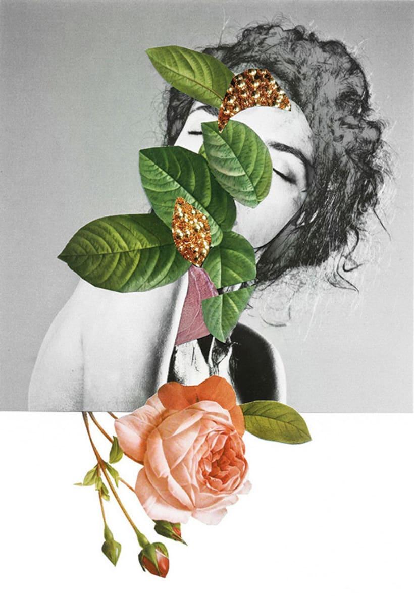 El delicioso collage analógico y surrealista de Rocío Montoya 15