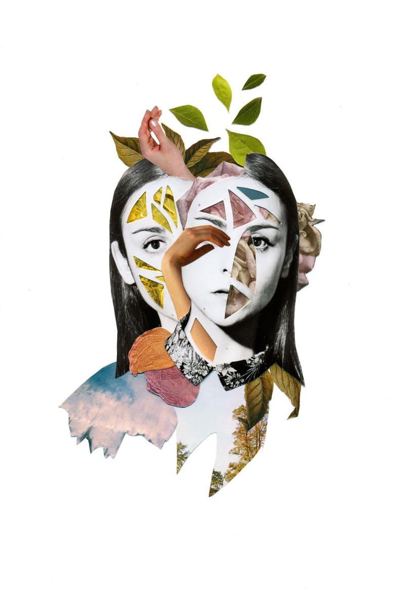 El delicioso collage analógico y surrealista de Rocío Montoya 16