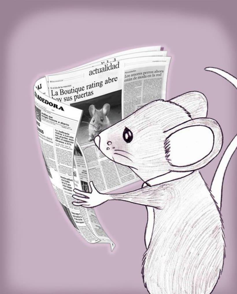 La Ratita que abandonó su lacito 1