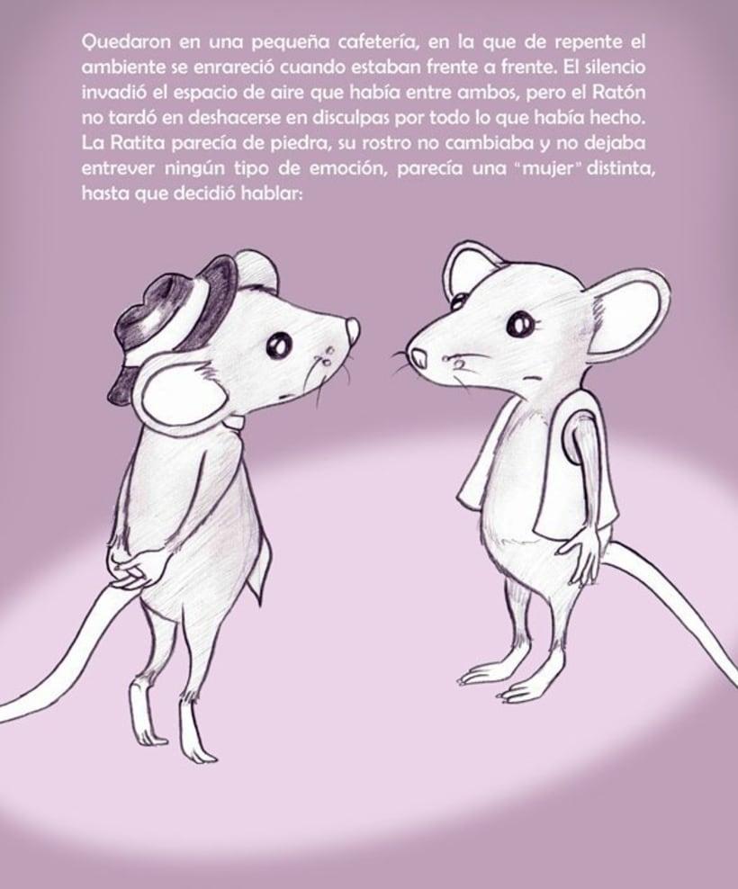 La Ratita que abandonó su lacito 2