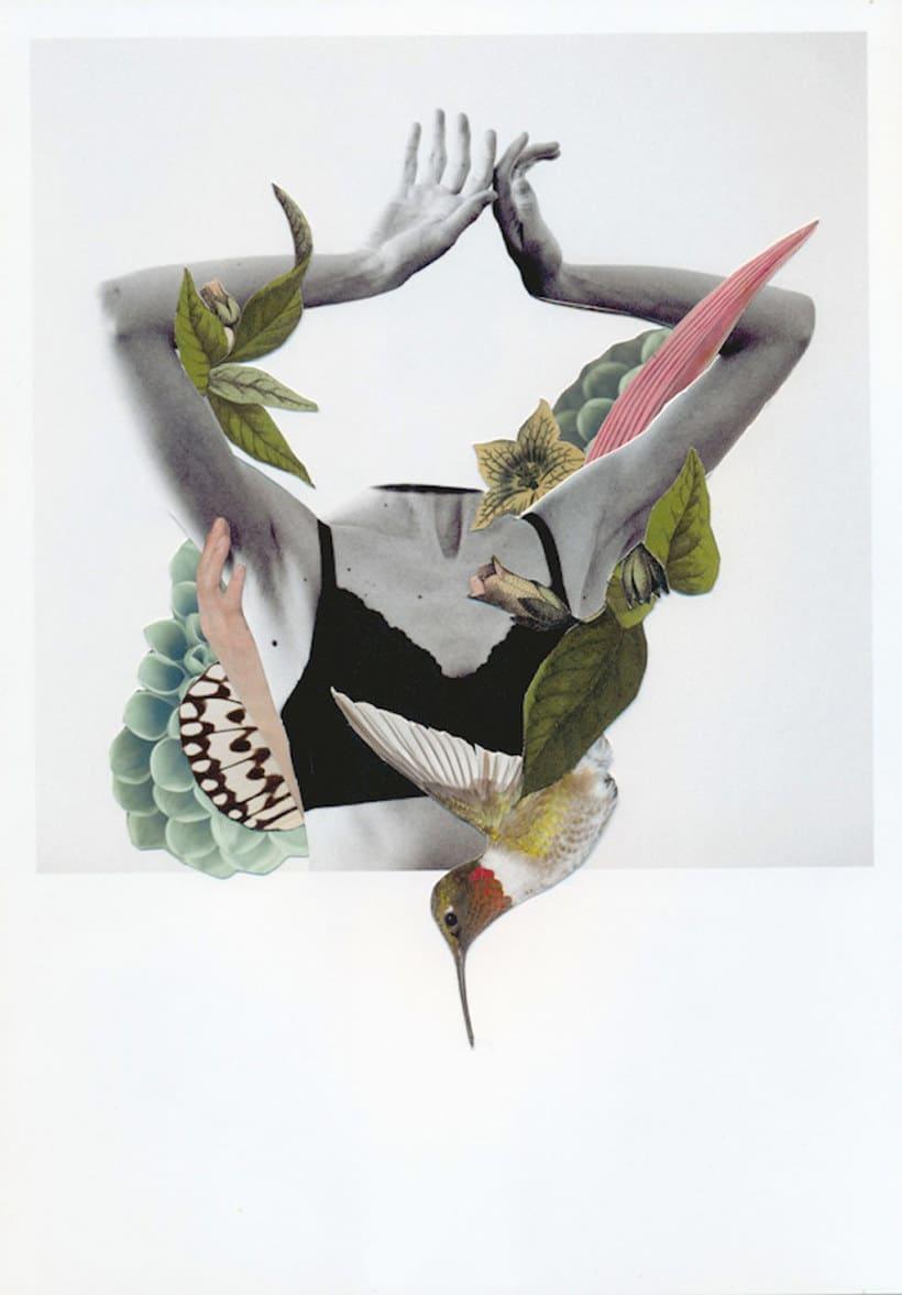 El delicioso collage analógico y surrealista de Rocío Montoya 23