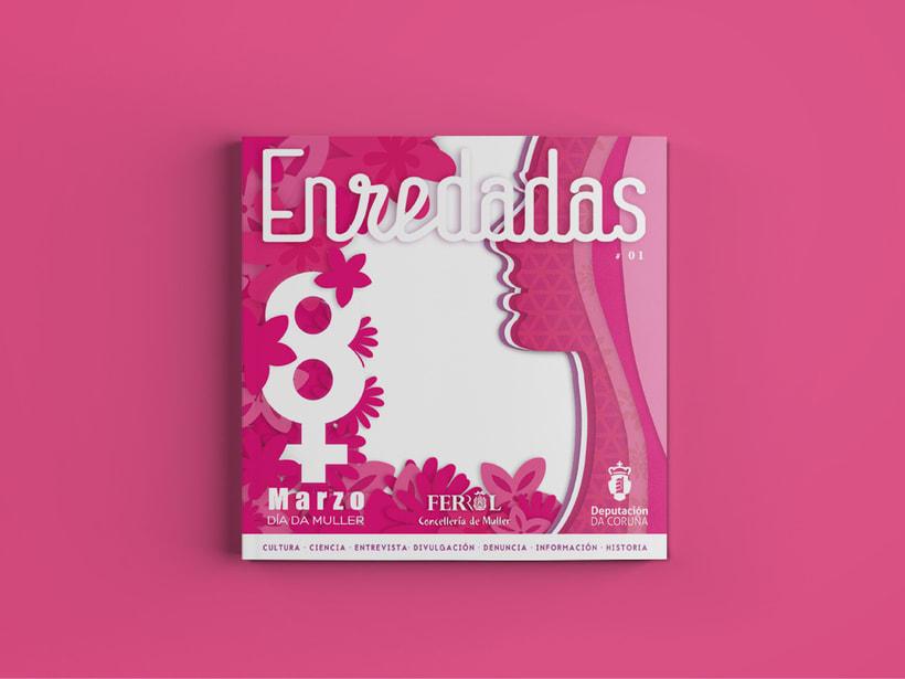 Revista Enredadas. (mujeres en Red) Marzo 2016 -1