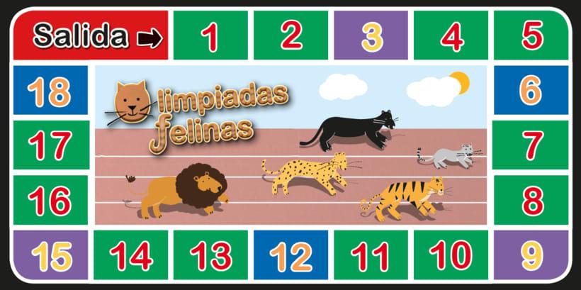 Olimpiadas felinas 6