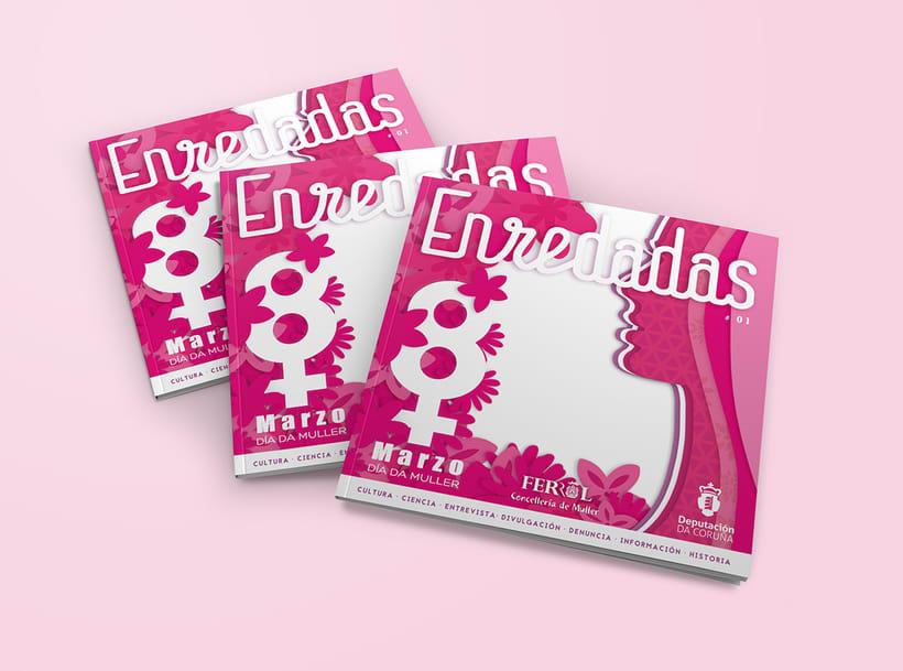 Revista Enredadas. (mujeres en Red) Marzo 2016 9
