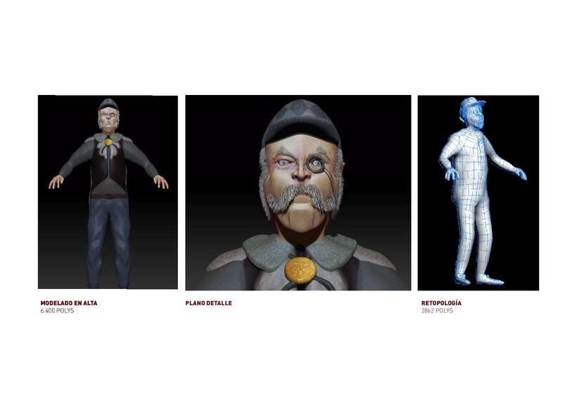 Diseño de videojuegos & Modelador 3d 7