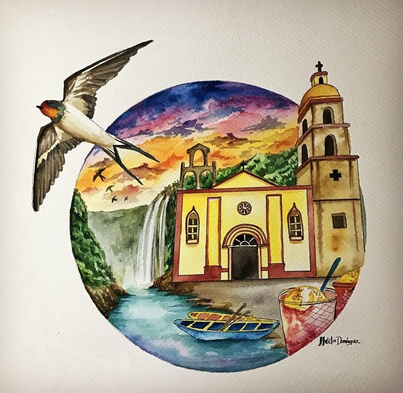 Acuarela Huasteca 0