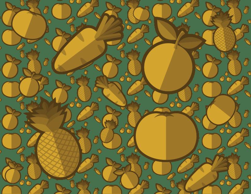 Patrón de Frutas -1