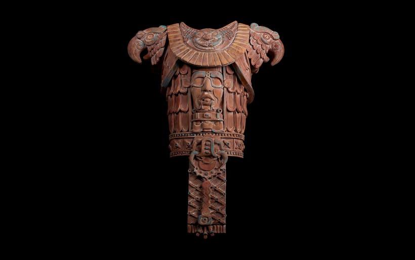 Esculturas mayas hotel UNICO 20º87º 0