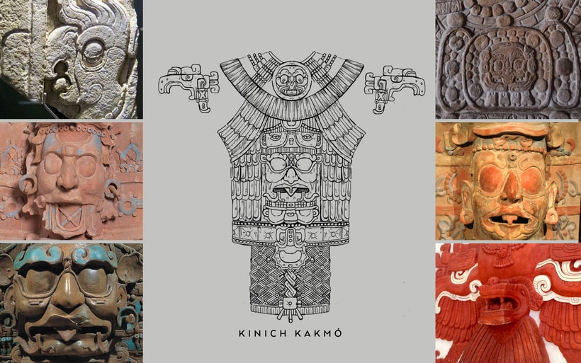 Esculturas mayas hotel UNICO 20º87º 4