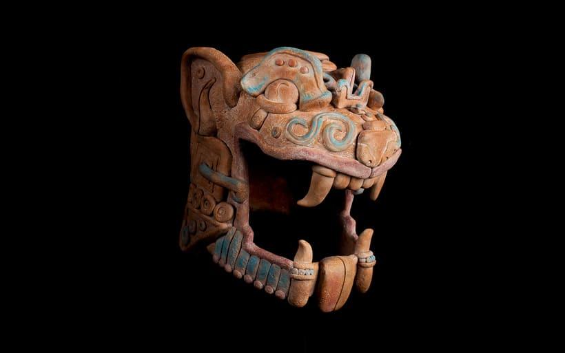 Esculturas mayas hotel UNICO 20º87º 10