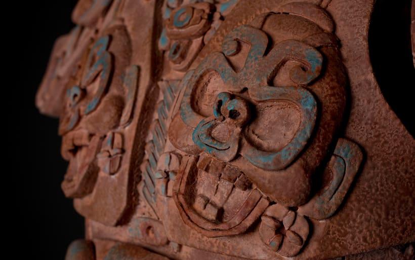 Esculturas mayas hotel UNICO 20º87º 8