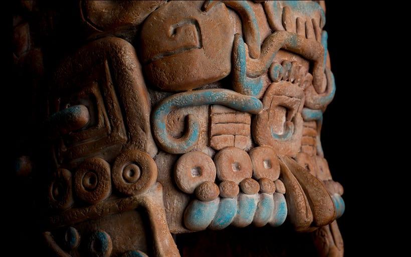 Esculturas mayas hotel UNICO 20º87º 14
