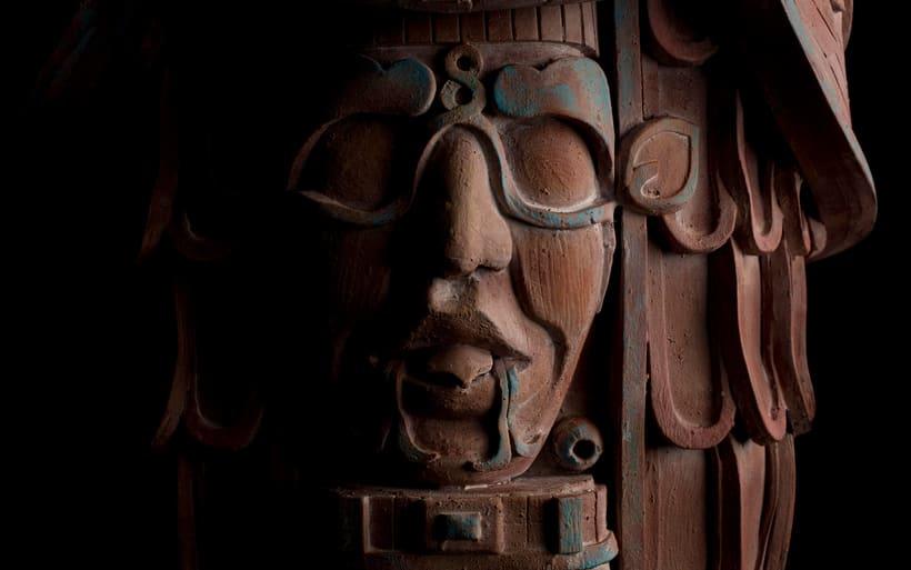 Esculturas mayas hotel UNICO 20º87º 7