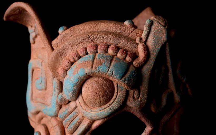 Esculturas mayas hotel UNICO 20º87º 15