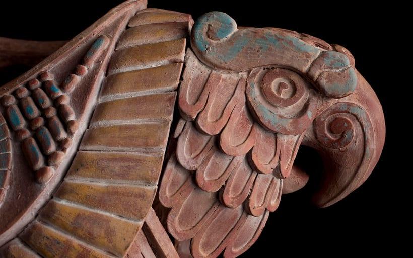 Esculturas mayas hotel UNICO 20º87º 6