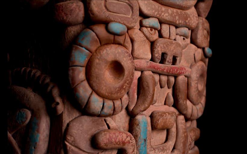 Esculturas mayas hotel UNICO 20º87º 13