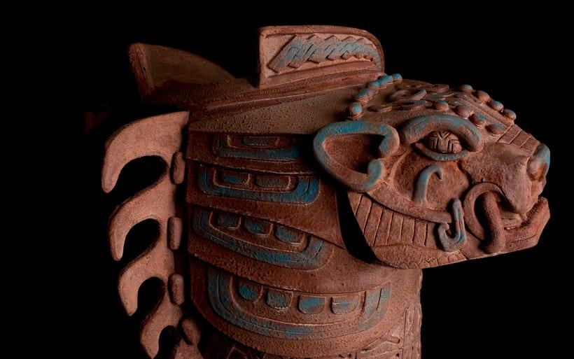 Esculturas mayas hotel UNICO 20º87º 9