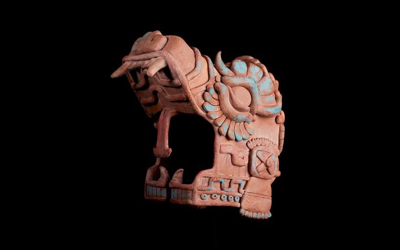 Esculturas mayas hotel UNICO 20º87º 12