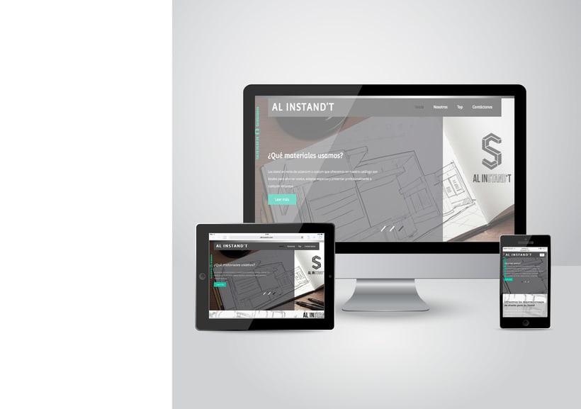 Página web Al Instand't -1