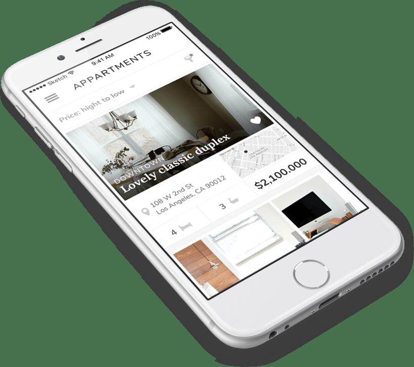 Aplicación móvil Appartments 0