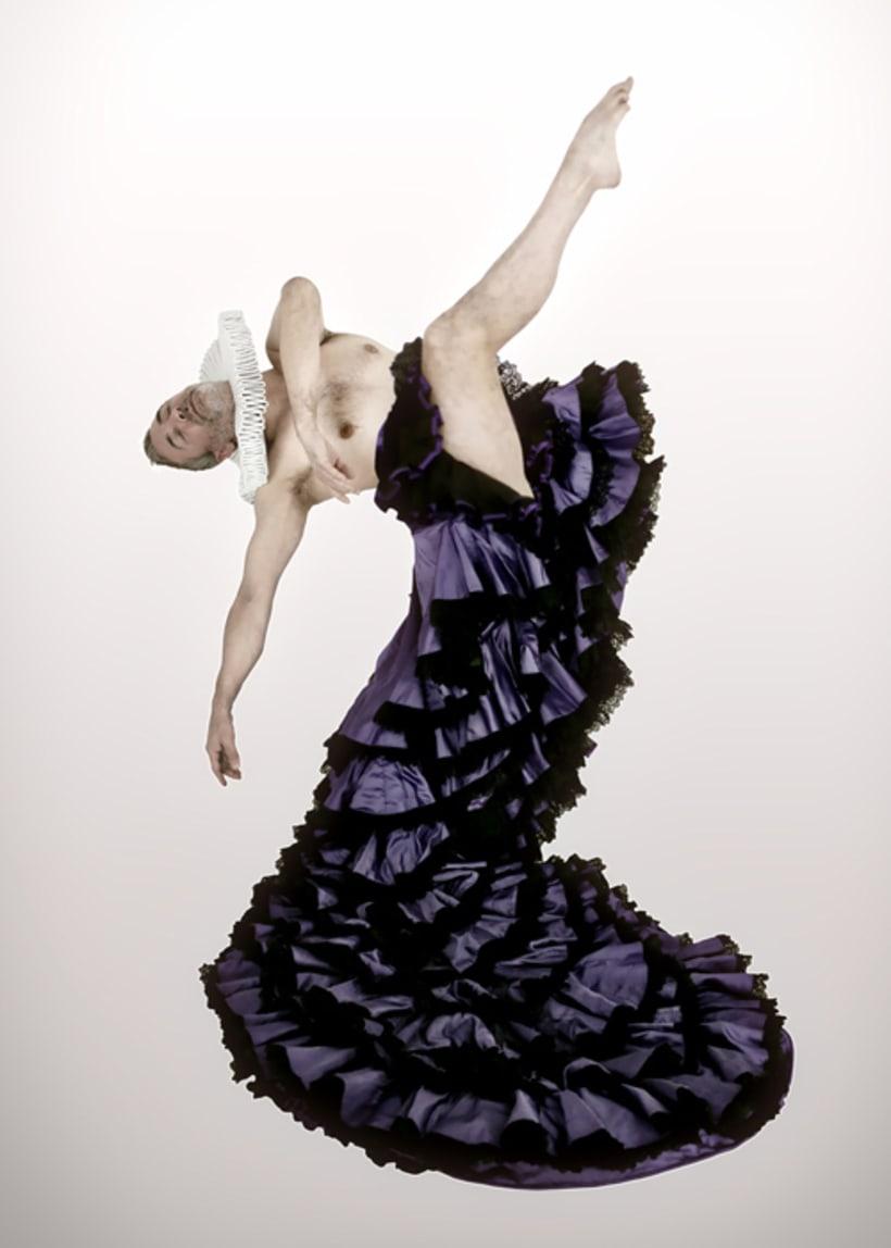 BUSCANDO CERVANTES, fusión de flamenco, danza contemporánea y teatro 1