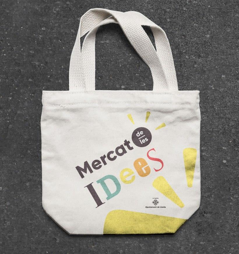"""Logotipo para el """"Mercat de les idees"""" — Proyecto para el ayuntamiento de Lleida 0"""
