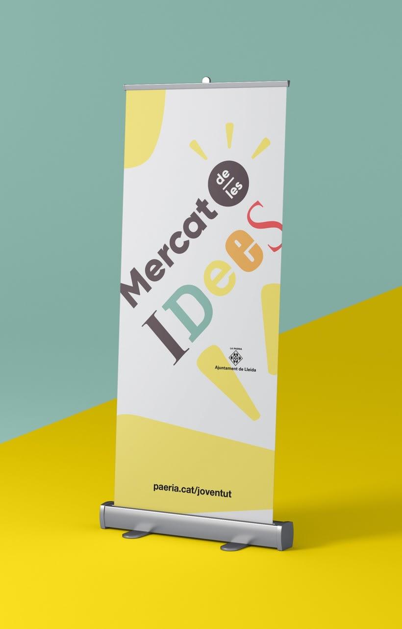 """Logotipo para el """"Mercat de les idees"""" — Proyecto para el ayuntamiento de Lleida 1"""