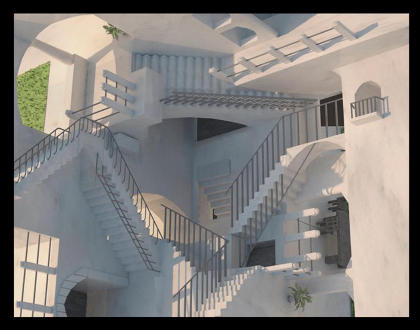 Escher 3D -1