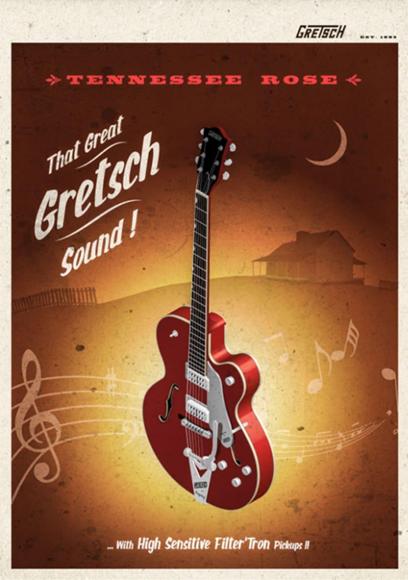 Gretsch Tennessee Rose 1