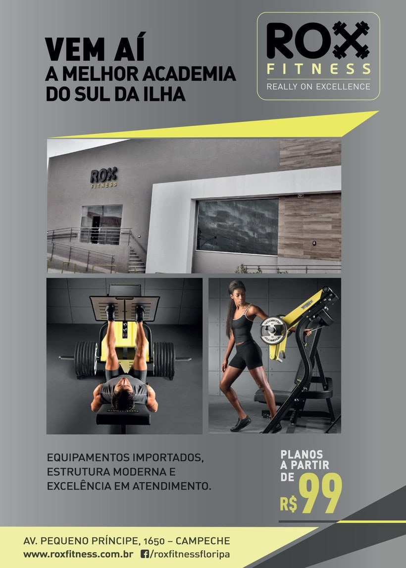 ROX Fitness - Identidad visual 2