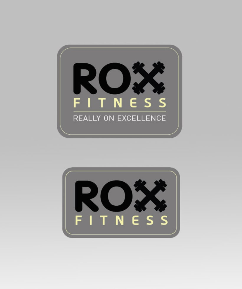 ROX Fitness - Identidad visual 0