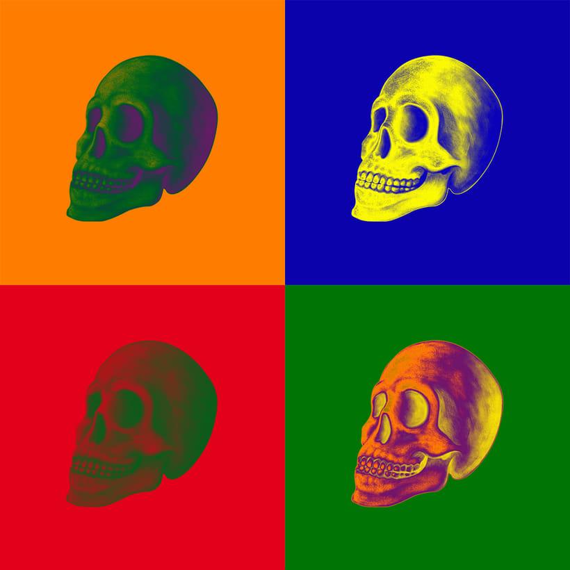 Ilustración DarkSkull para camisetas 2