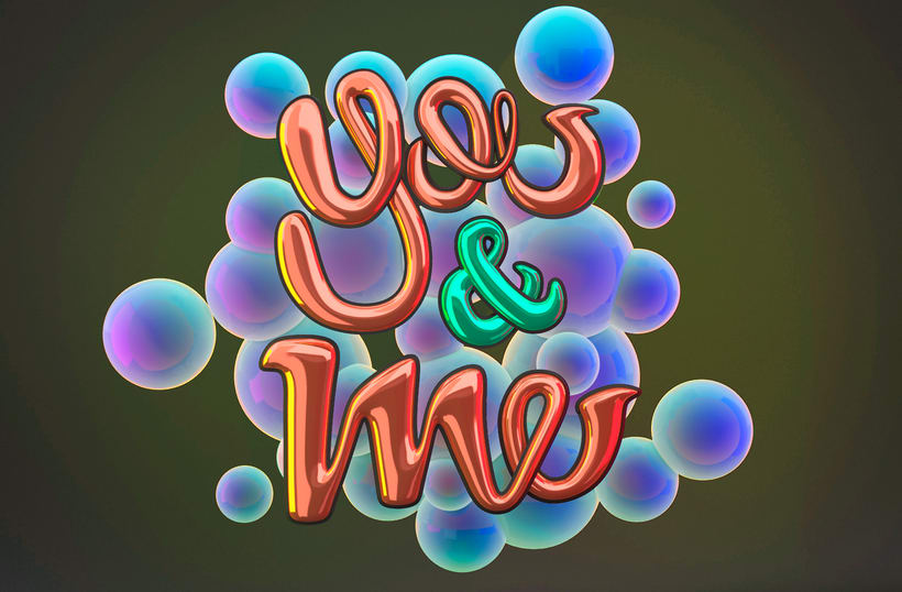 YOU&ME - 3DMAX, VRAY, PS 1