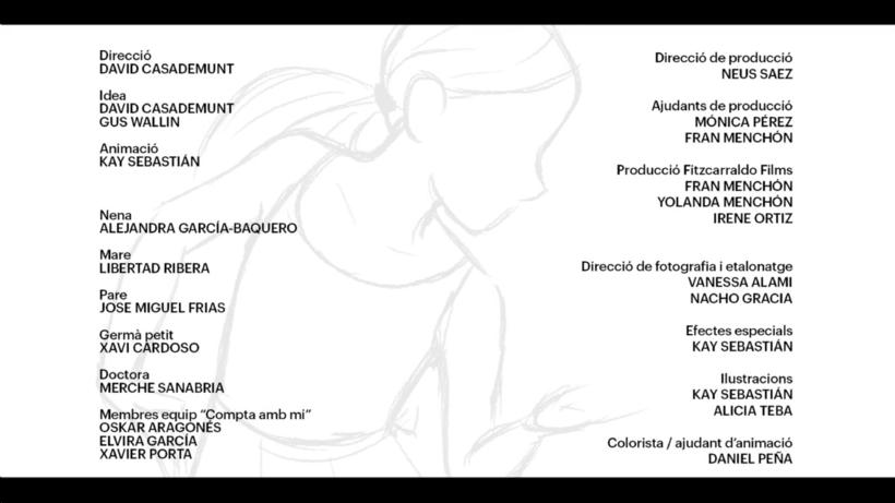 Compta amb mi - Ilustración/animación 11
